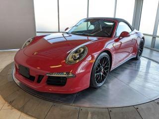Used 2015 Porsche 911 Carrera 4 GTS | Cabriolet | CPO | Ext. Warranty for sale in Edmonton, AB