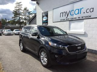 Used 2019 Kia Sorento 3.3L LX 7 PASS, BACKUP CAM. HEATED SEATS. A/C. ALLOYS. for sale in North Bay, ON
