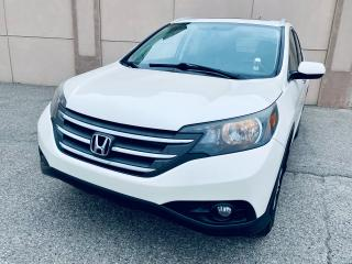 Used 2014 Honda CR-V Touring AWD Navi Sunroof Leather Certified $ 17499 for sale in Brampton, ON