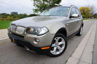 Used 2009 BMW X3 LOW KM'S / STUNNING COMBO / NO ACCIDENTS / LOCAL for sale in Etobicoke, ON