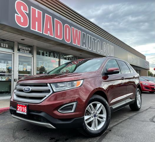2016 Ford Edge SEL  No Accidents  B-Camera  HTD Seats  XM Radio 