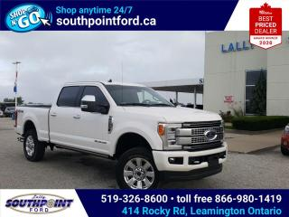Used 2019 Ford F-250 Platinum PLATINUM|4X4|CRUISE CONTROL|BLUETOOTH| for sale in Leamington, ON
