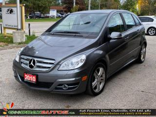 Used 2010 Mercedes-Benz B-Class B 200 Turbo|LOW KM|NO ACCIDENT|SUNROOF|CERTIFIED for sale in Oakville, ON