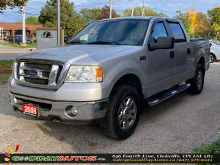Used 2008 Ford F-150 XLT|LOW KM|NO ACCIDENT|4WD|CERTIFIED for sale in Oakville, ON