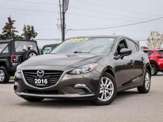 Used 2016 Mazda MAZDA3 GS - AUTOMATIC, REAR CAMERA, BLUETOOTH, ALLOY WHEELS for sale in Hamilton, ON