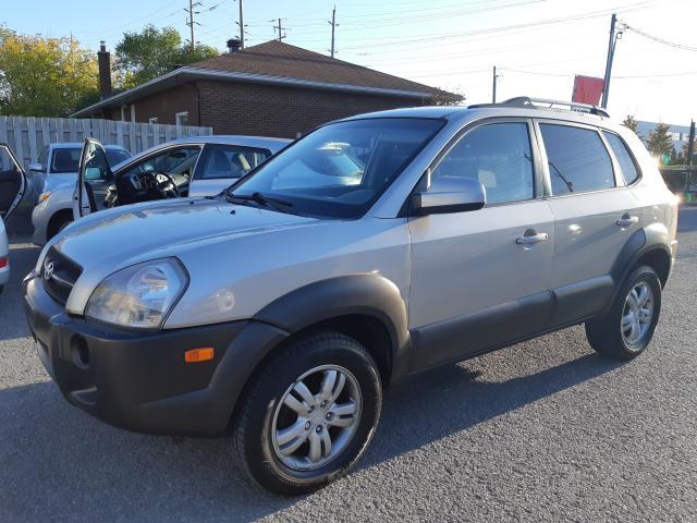 2006 Hyundai Tucson AUTOMATIC, AWD, POWER GROUP, ONLY 142 KM