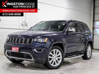 Used 2017 Jeep Grand Cherokee Limited | 4WD | Leather | Sunroof | for sale in Kingston, ON