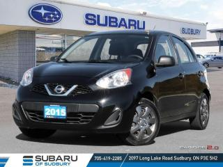 Used 2015 Nissan Micra S Incredible Value For Money! Winter Tires Included! for sale in Sudbury, ON