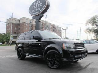 Used 2011 Land Rover Range Rover Sport 4WD 4dr SC for sale in Burlington, ON