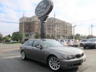Used 2008 BMW 7 Series 4dr Sdn 750i for sale in Burlington, ON