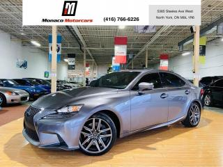 Used 2016 Lexus IS 300 AWD F SPORT |SUNROOF |BLIND SPOT| MARK LEVINSON for sale in North York, ON