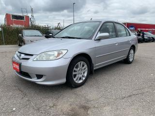 Used 2005 Honda Civic LX-G Sunroof /Alloys for sale in Milton, ON