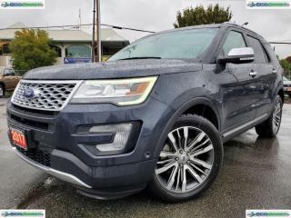 Used 2017 Ford Explorer Platinum for sale in Surrey, BC