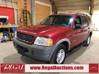 Used 2002 Ford Explorer XLS for sale in Calgary, AB