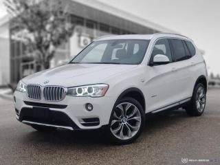 Used 2017 BMW X3 xDrive28i Local! Navigation! New Tires! for sale in Winnipeg, MB