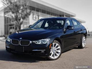 Used 2017 BMW 3 Series 330i xDrive Local, Low Mileage, Accident Free, Lease Return! for sale in Winnipeg, MB