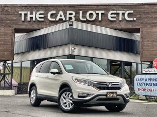 Used 2015 Honda CR-V EX-L AWD!! LEATHER!! SUNROOF!!  BACK-UP CAM!! HEATED SEATS!! for sale in Sudbury, ON
