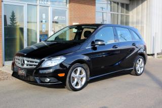 Used 2014 Mercedes-Benz B-Class Sports Tourer - ACCIDENT FREE - LOW KM for sale in Saskatoon, SK