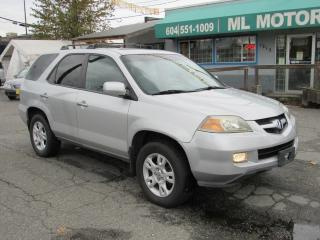 Used 2004 Acura MDX Touring Pkg RES for sale in Vancouver, BC