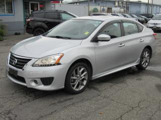 Used 2014 Nissan Sentra SR for sale in Vancouver, BC