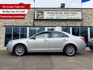Used 2010 Lincoln MKZ MKZ/leather/sunroof/navigation/backup camera/ for sale in Calgary, AB