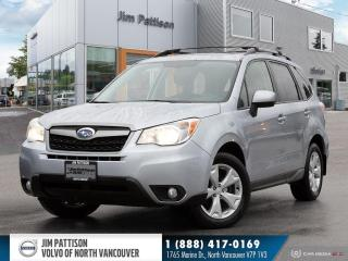 Used 2015 Subaru Forester 2.5i Touring Package - LOCAL - ONE OWNER - LOW KM' for sale in North Vancouver, BC