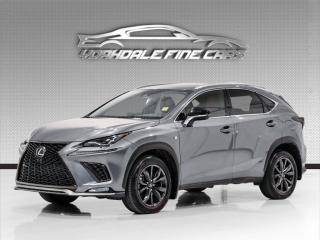 Used 2020 Lexus NX 300. F Sport, Red Int, Navi, Roof, Driver Assist, Loaded! for sale in Concord, ON