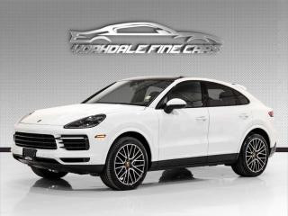 Used 2020 Porsche Cayenne Coupe AWD. 335HP.  Driver Assist, Navi, Pano, Cam, Loaded! for sale in Concord, ON