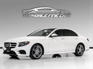 Used 2019 Mercedes-Benz E-Class E300 4MATIC. AMG Package, Driver Assist, Navi, Cam, Loaded! for sale in Concord, ON