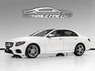 Used 2018 Mercedes-Benz E-Class E300 4MATIC. AMG Package, Driver Assist, Navi, Roof, Loaded! for sale in Concord, ON