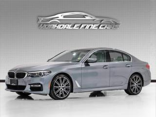 Used 2017 BMW 5 Series 530i xDrive AWD. M Sport. Navi, Roof, Driver Assist, Loaded! for sale in Concord, ON