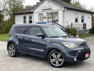 Used 2015 Kia Soul LOW KMS SX Panoroof Navi BckpCam Leather Bluetooth LOADED for sale in Sutton, ON