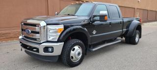 Used 2012 Ford F-350 Super Duty DRW F-350 LARIAT DUALLY 4X4 CREW LONG BOX  NAV LEATHER & MORE ! for sale in Calgary, AB