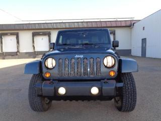 Used 2007 Jeep Wrangler 4WD 4dr Unlimited Sahara for sale in Edmonton, AB