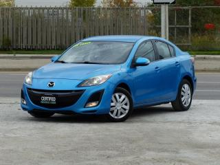 Used 2010 Mazda MAZDA3 GT,NO-ACCIDENT,1-OWNER,HEATD SEAT,CERTIFIED for sale in Mississauga, ON