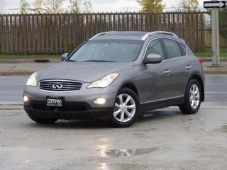Used 2009 Infiniti EX35 AWD,BACK-CAM,LEATHER,NO-ACCIDENT,CERTIFIED,FULLY LOADED for sale in Mississauga, ON