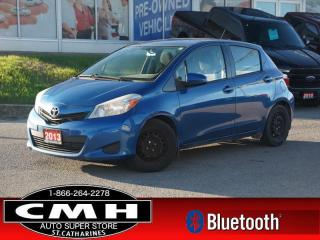 Used 2013 Toyota Yaris LE  BLUETOOTH PWR-GROUP A/C for sale in St. Catharines, ON