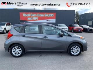 Used 2017 Nissan Versa Note SV  - Bluetooth -  Heated Seats for sale in Ottawa, ON