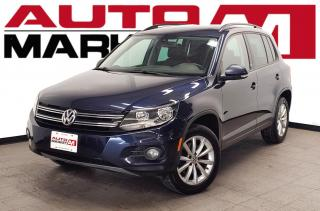 Used 2017 Volkswagen Tiguan Wolfsburg Edition Certified!Leather!HeatedSeats!WeApproveAllCredit! for sale in Guelph, ON
