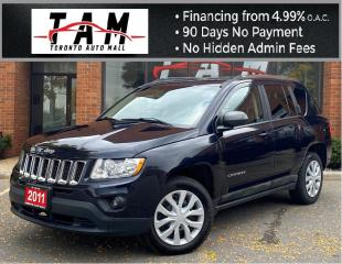 Used 2011 Jeep Compass Sport 4WD North Edition Heated Seats Keyless Entry for sale in North York, ON