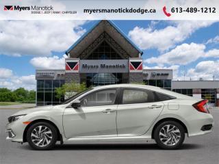 Used 2019 Honda Civic Sedan EX CVT  - Sunroof -  Remote Start - $176 B/W for sale in Ottawa, ON
