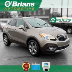 Used 2014 Buick Encore w/AWD, Backup Camera, Leather, Navigation, Heated Seats for sale in Saskatoon, SK