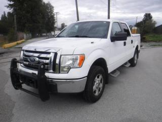 Used 2011 Ford F-150 Crew Cab Gas And Propane With Fibreglass Rear Cover and Bed Slide for sale in Burnaby, BC