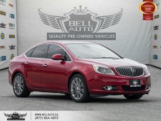 Used 2014 Buick Verano Premium, Navi, RearCam, SunRoof, NoAccident, LaneAsst for sale in Toronto, ON