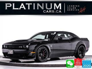 Used 2018 Dodge Challenger SRT Hellcat Widebody, 717HP, SUPERCHARGED, NAV for sale in Toronto, ON