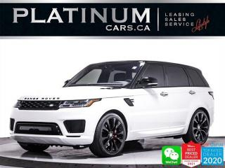 Used 2019 Land Rover Range Rover Sport HST MHEV, BLACK OUT PKG, NAV, PADDLE SHIFTERS for sale in Toronto, ON