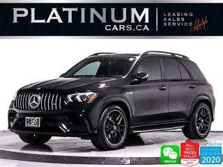 Used 2021 Mercedes-Benz GLE-Class AMG GLE 63 S, 603HP, BITURBO, NIGHT PKG, NAV, PANO for sale in Toronto, ON