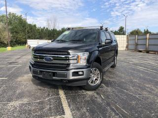 Used 2018 Ford F-150 Lariat Crew 4WD for sale in Cayuga, ON
