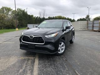 Used 2020 Toyota Highlander LE AWD for sale in Cayuga, ON
