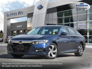 Used 2018 Honda Accord Sedan EX-L for sale in Ottawa, ON
